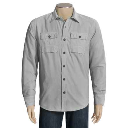 Topo Ranch The Fencemender Shirt - Organic Cotton, Long Sleeve (For Men) in Hi Rise Grey - Closeouts