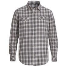 Topo Ranch The Whiskey Banjo Shirt - Organic Cotton, Long Sleeve (For Men) in Antuiqe Black - Closeouts