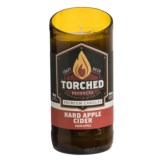 Torched Hard Cider Beer Bottle Soy Candle - 8 oz.