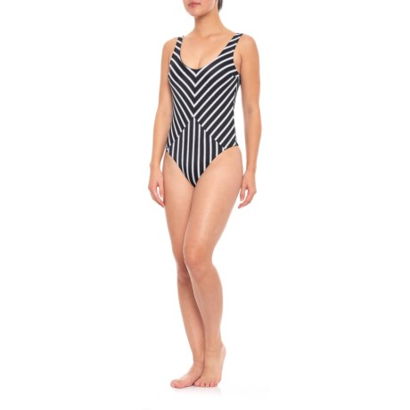 32bd766549142 Tori Praver Genevie One-Piece Swimsuit (For Women) in Black Sands