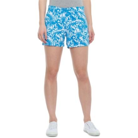 a7c19b4693 Tori Richard Blue Cuckoo Jungle Sadie Shorts (For Women) in Blue