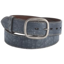 Torino Heritage Belt - 40mm, Aniline Leather (For Men) in Old Grey - Closeouts