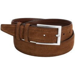 Torino Suede Belt (For Men) in Chili