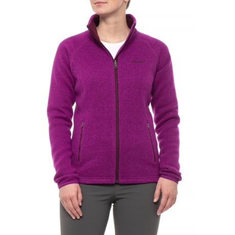 Torla Polartec(R) Thermal Pro(R) Jacket (For Women) - GRAPE (S )