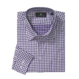 Toscano Check Sport Shirt - Cotton, Long Sleeve (For Men)