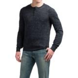 Toscano Henley Sweater - Linen Blend (For Men)