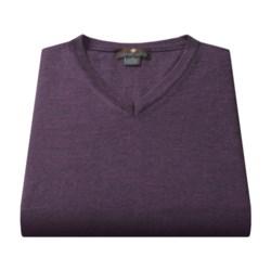 Toscano Merino Wool Vest (For Men) in Black/Taupe