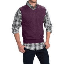Toscano Merino Wool Vest (For Men) in Pompeii - Closeouts
