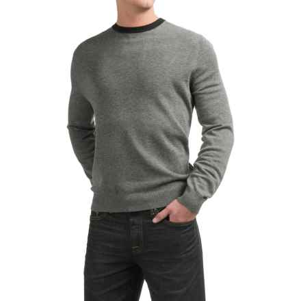 Toscano Newbury Sweater - Merino Wool (For Men) in Flint Melange - Closeouts