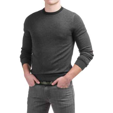 Toscano Newbury Sweater - Merino Wool (For Men) in Shadow Melange - Closeouts