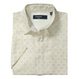 Toscano Patterned Shirt - Silk-Rayon, Short Sleeve (For Men)