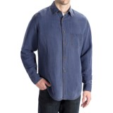 Toscano Silk-Linen Shirt - Long Sleeve (For Men)
