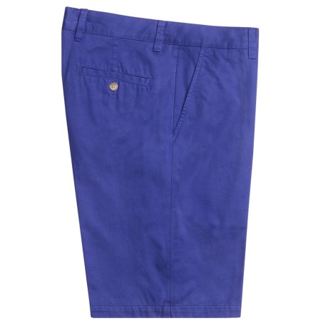 Toscano Twill Shorts - Cotton (For Men) in Nautical