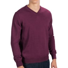 Toscano V-Neck Sweater - Merino Wool (For Men) in Pompeii - Closeouts