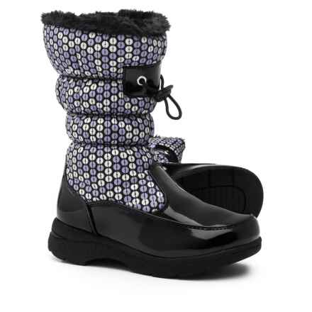 totes Dotty Snow Boots - Waterproof, Insulated (For Girls) in Black - Closeouts