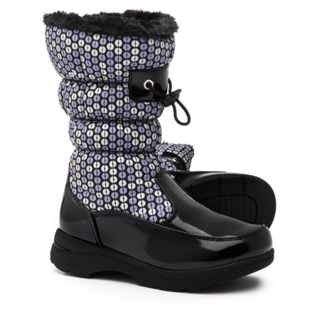 totes Dotty Snow Boots - Waterproof, Insulated (For Girls) in Black