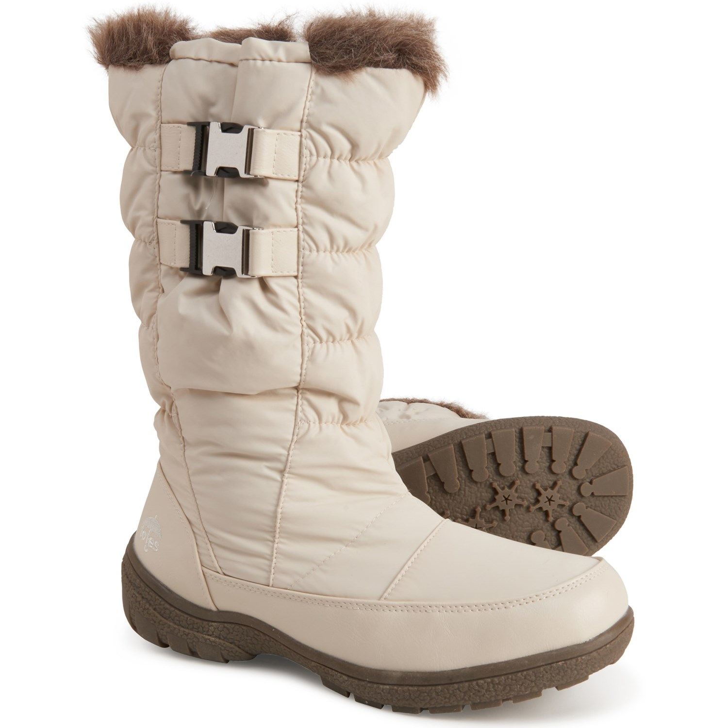 totes Double-Buckle Winter Boots (For