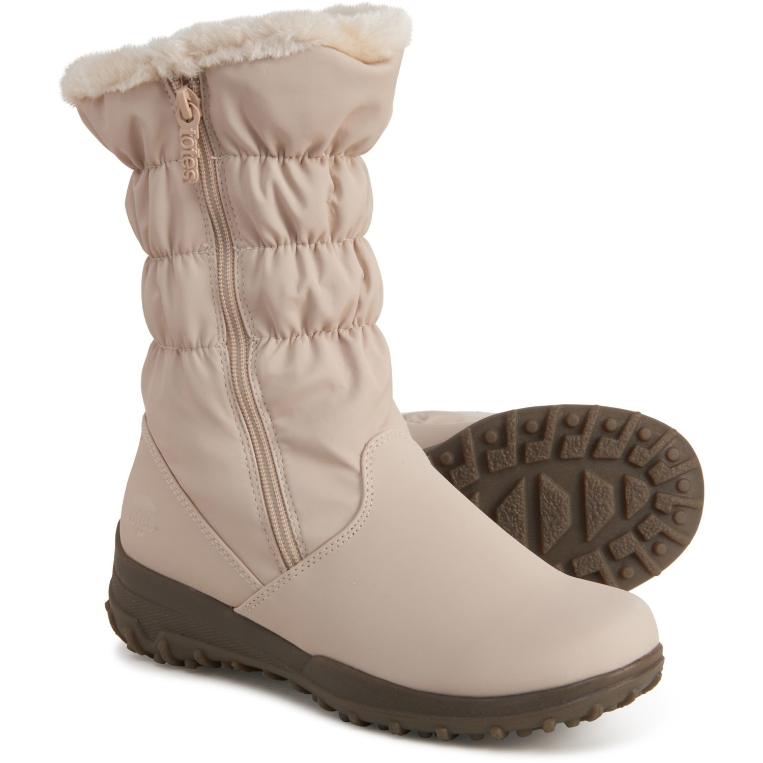 totes Double Side-Zip Snow Boots (For