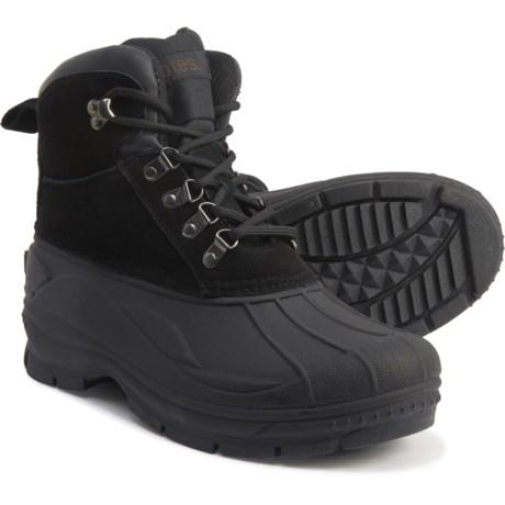 totes Men's Glacier Pac Boots (Black 02)