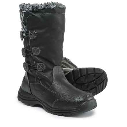 totes Mya Snow Boots - Waterproof, Insulated (For Women) in Black - Closeouts