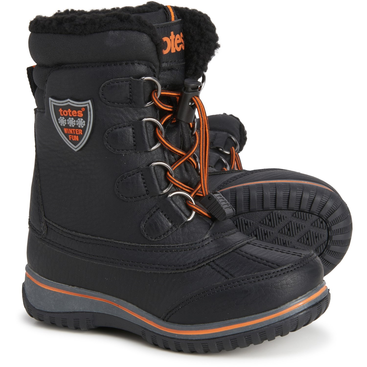 totes Noah Snow Boots (For Boys) - Save 40%