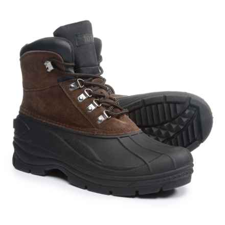 totes Tommy Pac Boots - Waterproof, Insulated (For Men) in Brown - Closeouts