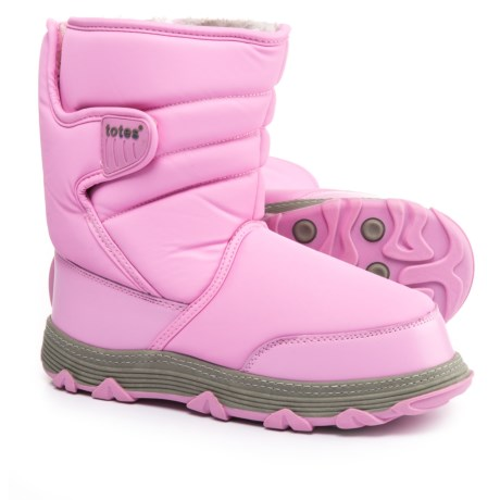 totes Vana Snow Boots - Waterproof (For Little and Big Girls) in Pink