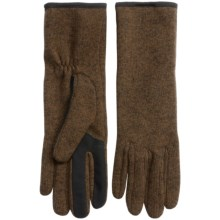 Touchpoint Smart Gloves - Touchscreen Compatible (For Women) in Lodge - Overstock