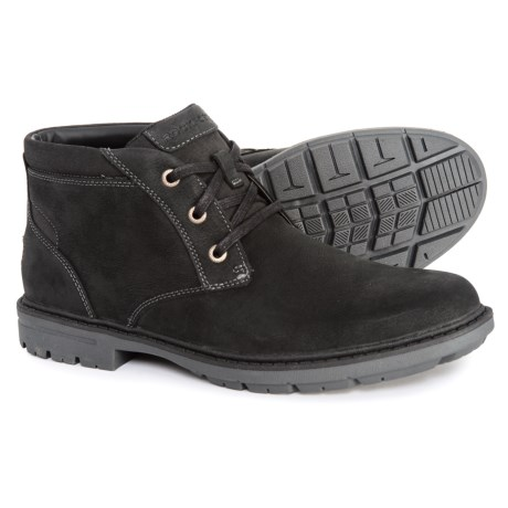 Tough Bucks Chukka Boots - Waterproof, Leather (For Men)