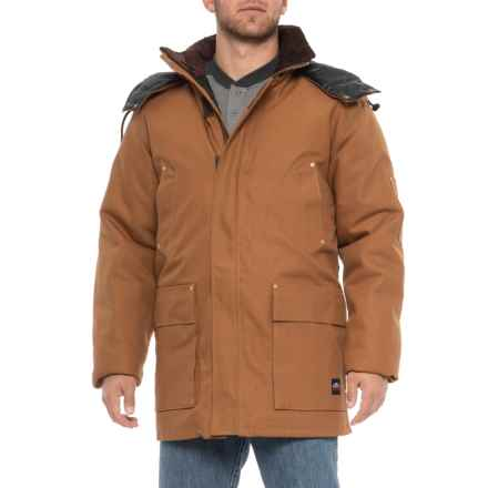 Tough Duck Antarctica Down Parka (For Men) in Brown - Closeouts