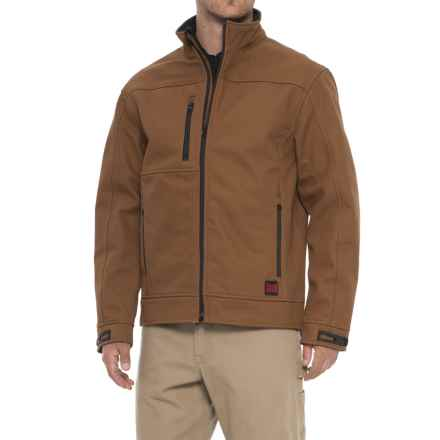 Tough Duck Bonded Jacket (For Men) in Brown - Closeouts