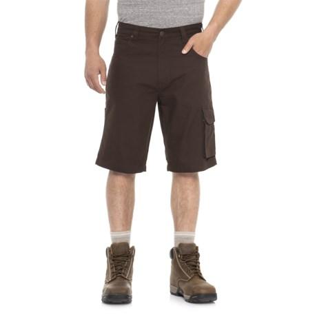 Tough Duck Canvas Cargo Work Shorts (For Men)