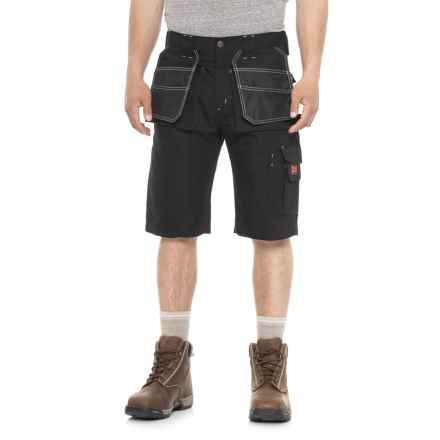 Tough Duck Contractor Shorts (For Men) in Black - Closeouts