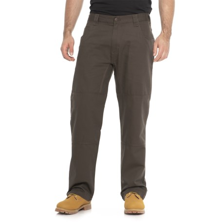 Tough Duck Cotton Canvas Tool Pants (For Men) in Earth