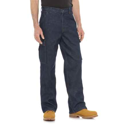 Tough Duck Flame-Resistant Cargo Denim Pants (For Men) in Indg - Closeouts