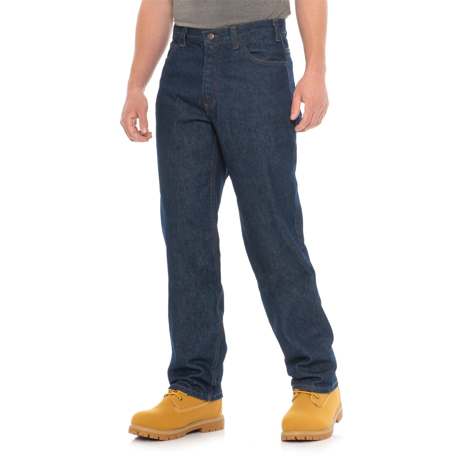 5802b614e212 Tough Duck Flame-Resistant Work Jeans (For Men) in Indg ...