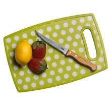 Tovolo Cutting Board - Small in Lime Dot - Closeouts
