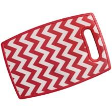 Tovolo Cutting Board - Small in Red Chevron - Closeouts