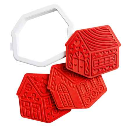 Tovolo Gingerbread House Cookie Cutters - 6-Pack in See Photo - Closeouts