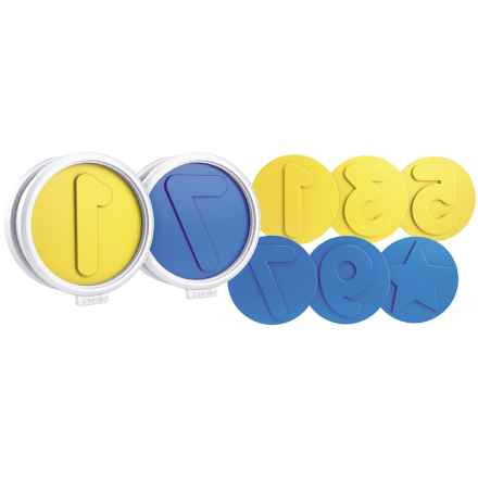 Tovolo Number Fun Cookie Cutters - 8-Piece Set in Yellow/Blue - Closeouts