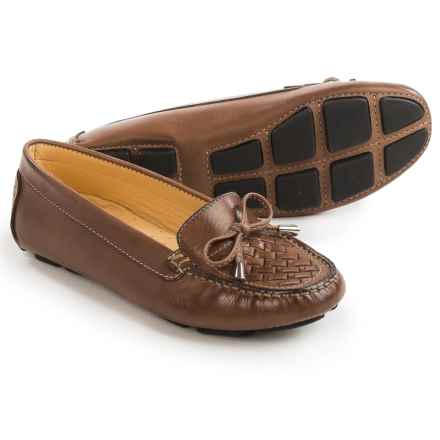 Tower 10 Bruna Driving Moccasins - Leather (For Women) in Brown - Closeouts