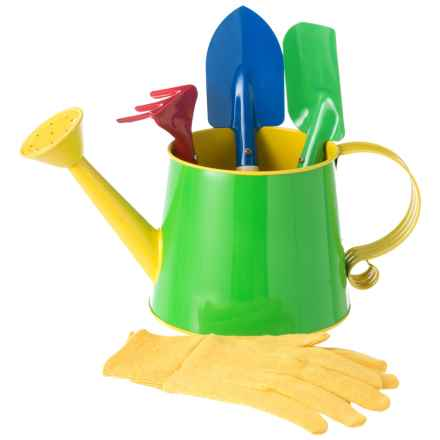 Toysmith Kid's Garden Watering Can Kit in Green - Closeouts