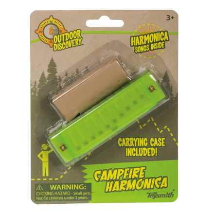 Toysmith Outdoor Discovery Campfire Harmonica in Green - Closeouts