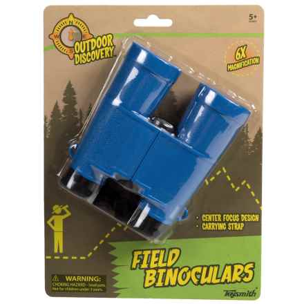 Toysmith Outdoor Discovery Field Binoculars - 6X in Blue - Closeouts