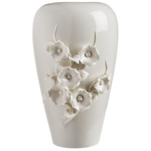 Tozai Capo Di Monte Vase - Porcelain in Dream Flower 2 - Closeouts