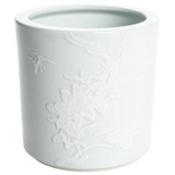 Tozai Celadon Porcelain Planter in Peony