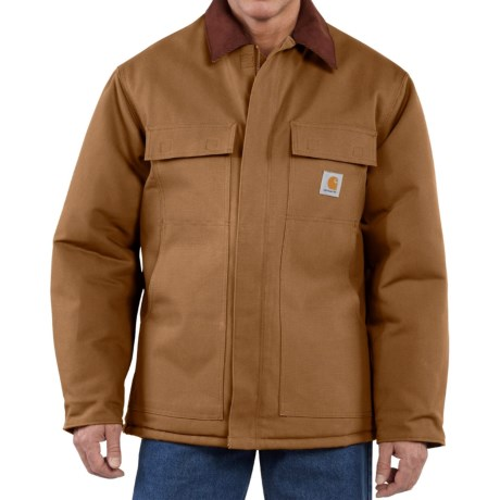 Traditional Duck Work Coat - Insulated, Factory Seconds (For Tall Men)