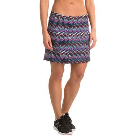 Tranquility Everyday Patterned Skort (For Women) in Interference - Closeouts