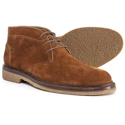 Trask Colton Chukka Boots - Suede (For Men) in Snuff - Closeouts