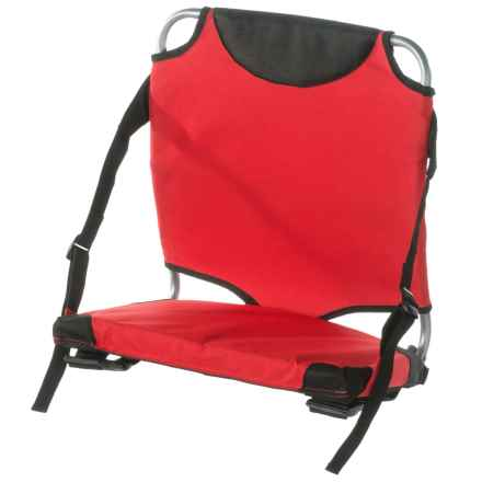 Travel Chair Stadium Seat in Red - Closeouts